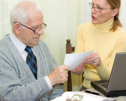 financial abuse of elderly
