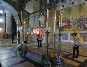 Holy tomb of Jesus