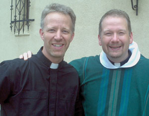 Holy Cross Fathers Bill and Neil Wack.