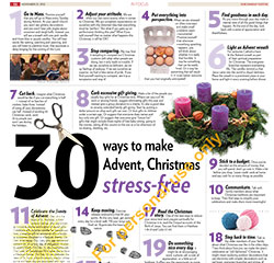 30 Ways to Prepare for Advent