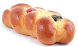 Sweet bread on Easter Sunday